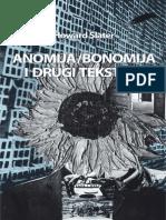 Howard Slater Anomija Bonomija