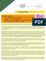 OTP Weekly Briefing - 5-11 October 2010 - Issue #58