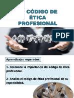 Semana 12,13, 14 y 15 Etica Etica Profesional Envio