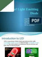 Types of Light Emitting Diode