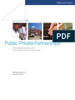 Public Private Partnerships Enhancing Social Impact