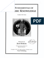 Dubuis, Jean - The Fundamentals of Esoteric Knowledge (2000)