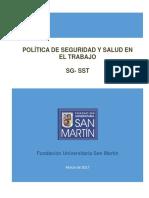 politica-SG-SST-FUSM.pdf