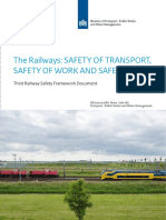 The Railways Safety of Transport Safety of Work and Safety of Life