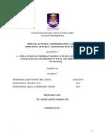 Group Assignment PAD 102 Bureaucracy
