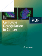 [Current Cancer Research] Elena Sotillo, Xavier Graña (Auth.), Greg H. Enders (Eds.) - Cell Cycle Deregulation in Cancer (2010, Springer-Verlag New York)