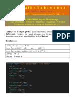 Javascript Tome Xv - Arrays en JavaScript