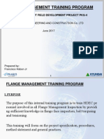 Flange Management Training Program 0