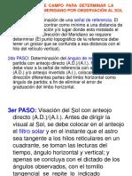 Azimut Del Sol