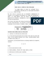 Criterios de Diseño Pozo Percolador