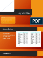 Antecedentes IVA