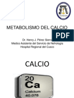 Metabolismo Del Calcio Fosforo Magnesio
