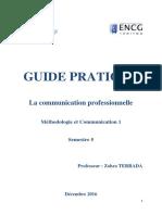 GUIDE PRATIQUE- La Communication Professionnelle