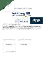 En MED Partner Expression of Interest