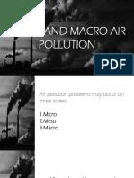 Envi Report - Micro and Macro Air Pollution
