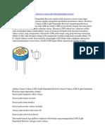 Sensor Cahaya LDR