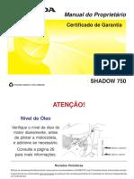 Manual Shadow 750 2006