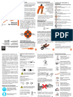 BAHCO Folleto Manual de Herramientas Aisladas 1000v