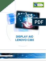 Display AIO Lenovo C365