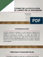 Consideraciones de Psicología Aplicada en El Campo de La Seguridad-charla