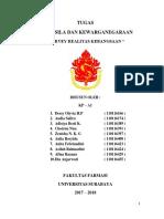 Survey Realitas Kebangsaan Kota Surabaya