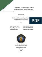 Analisis Manajemen Strategi PT Garuda In