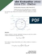 Ejercicio 2 de Empuje Hidrostatico-Flotación (Taller Mayo 2017)
