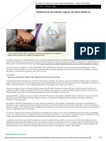 Justiça Recusa Pedido Da Defensoria de Manter Regras Do Mais Médicos