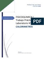 laboratorio calorimetria