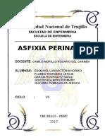 Asfixia Perinatal Dx y Cuidados