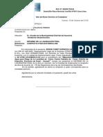 Carta Liquidación