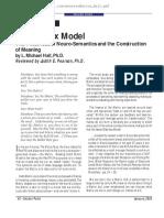 Michael Hall - NlpWeb - Matrix Model