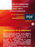 Presentación taller de Integración tecnica