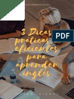 3 Dicas Práticas e Eficientes Para Aprender Inglês