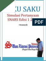 Buku Saku Simulasi Snars Edisi 1