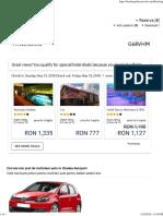Blue-Air _ Bilete de Avion Si Tarife - Itinerariu