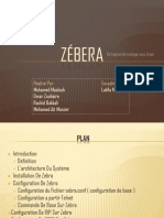 service Zebra sous linux