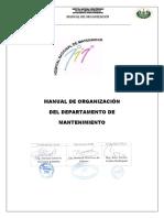Manual de Organizacion de Mantenimiento