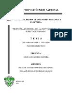 PROPUESTA DE MEJORAMIENTO ELECTRICO