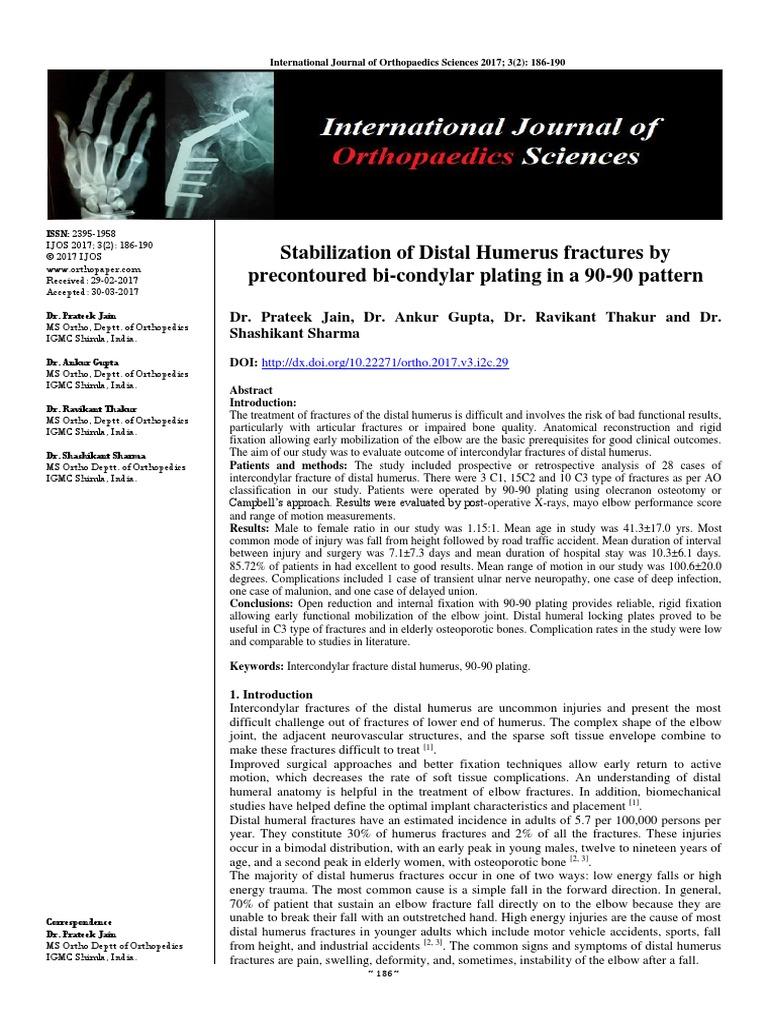 3-2-2-707 pdf | Elbow | Orthopedic Surgery