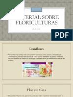 Material Sobre Floriculturas