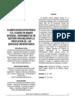 Caso de Estudio - BSC en Universidad de Venezuela