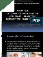 APARATELE ORTODONTICE