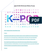 Contoh Teks Tanggapan Kritis Berkenaan Budaya K.docx