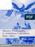 (Cambridge Studies in American Literature and Culture) Maurice S. Lee-Slavery philosophy american literature-Cambridge University Press (2005).pdf