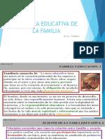LA TAREA EDUCATIVA DE LA FAMILIA  O F COMUNAL  indira.pptx
