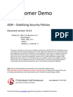 VLab Demo - ASM - Protecting Against Cookie Modification - V13.0.A