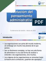 Enfoques de La Administración 2016