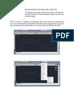 Manual Para Exportar Un Archivo Dwg a Arc Gis