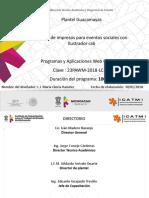 Diseño de Impresos Para Eventos Sociales 23pawm-2018-Lc-39